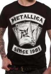 Metallica Dealer Cards Official Unisex T-Shirt