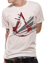 Assassin's Creed Fracutred Logo Official White Unisex T-Shirt