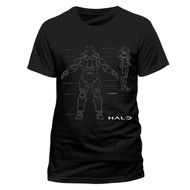 Halo 5 Master Chief Anatomy Official Unisex T-Shirt