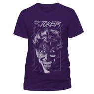 The Joker Purple Batman DC Comics Official Unisex T-Shirt