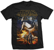 Captain Phasma and Troopers Official Star Wars Unisex T-Shirt