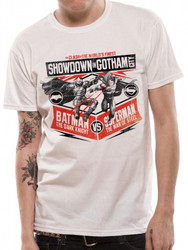 Batman v Superman Showdown in Gotham City Dawn of Justice Official T-Shirt