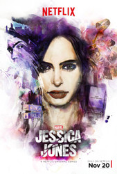 Jessica Jones Original Television Poster Double Sided Ultra Rare