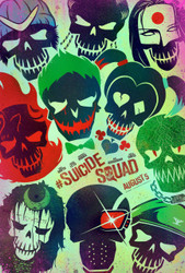 Suicide Squad Original Movie Poster - Style A