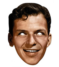 Frank Sinatra Celebrity Hollywood Card Party Face Mask
