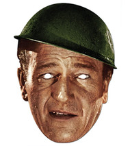John Wayne Celebrity Hollywood Card Party Face Mask