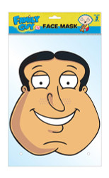Quagmire Offical Family Guy Card Party Face Mask