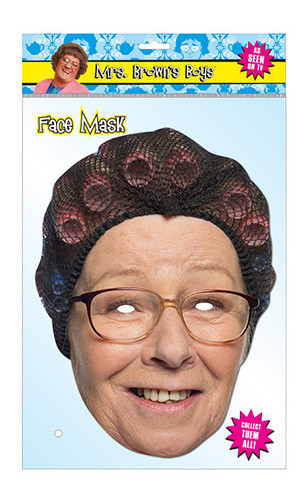 Winnie McGoogan Official Mrs Brown's Boys Card Party Face Mask