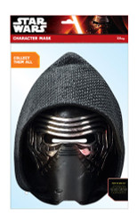 Kylo Ren Official Star Wars The Force Awakens Card Party Face Mask