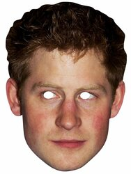 Prince Harry Royal Single Card Mask