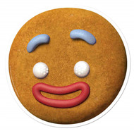 Gingy The Gingerbread Man from Shrek Single Card Mask