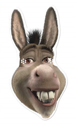 Donkey from Shrek Single Card Mask