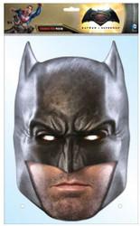 Batman Dawn of Justice Ben Affleck Card Face Mask