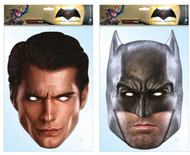 Batman v Superman: Dawn of Justice Twin Pack Card Party Face Masks