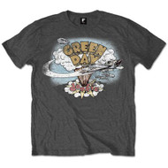 Green Day Dookie Vintage Logo Charcoal Official Unisex T Shirt