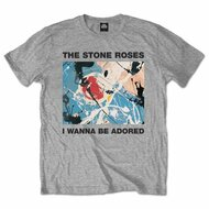 The Stone Roses Adored Logo Grey Official Unisex T Shirt