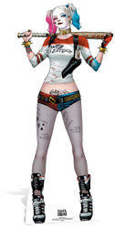 Harley Quinn Suicide Squad Lifesize Cardboard Cutout