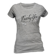 Suicide Squad Lucky You Fitted Ladies T-Shirt