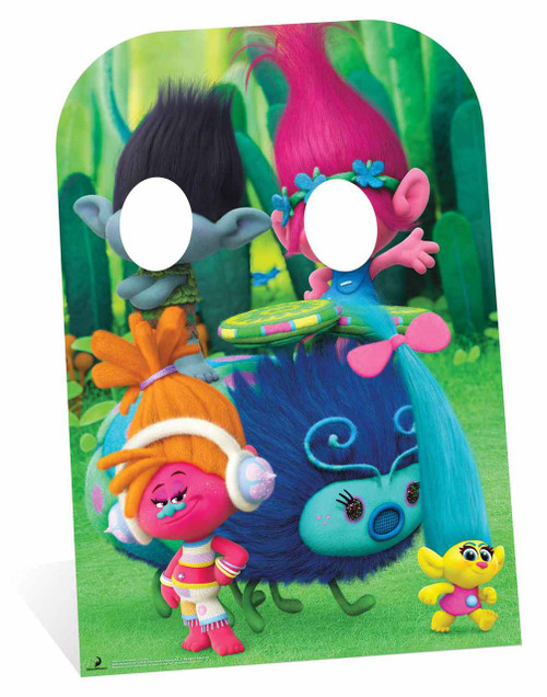 Trolls Poppy And Branch Child Size Cardboard Cutout Stand In