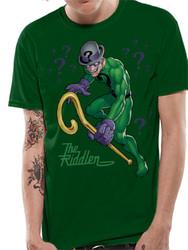 The Riddler DC Comics Green T-Shirt