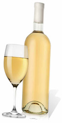 Giant Wine Glass and Bottle Cardboard Cutout