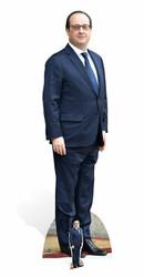 Francois Hollande Lifesize Cardboard Cutout