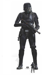 Death Trooper Lifesize and Mini Cardboard Cutout