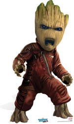 Baby Groot Mini Cardboard Cutout
