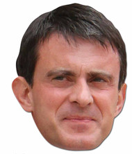 Manuel Valls French Politician 2D Face Mask