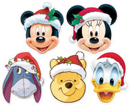 Mickey Mouse and Friends Card Party Mask 5 Pack