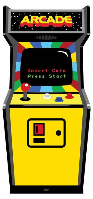 1980s Colour Video Arcade Game  Cardboard Cutout