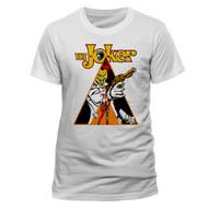 The Joker Clockwork Official Unisex White T-Shirt