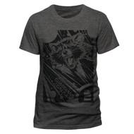 Geometric Rocket Guardians Of The Galaxy Vol. 2 Unisex Grey T-Shirt