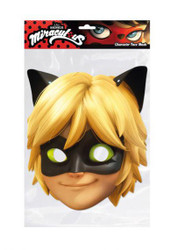 Cat Noir from Miraculous Party Face Mask