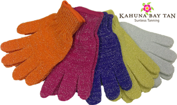 Kahuna Bay Tan Exfoliating Gloves