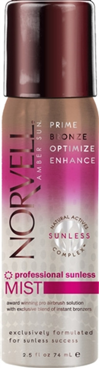 Norvell Amber Sun-  Self Sunless Tanning Aerosol Spray Tan Can 2.5oz