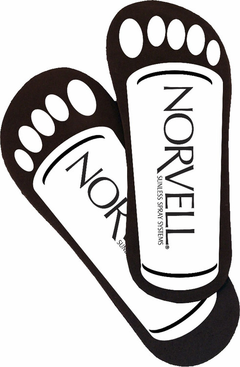 Norvell Neat Feet Cardboard Disposables, 25 Pairs