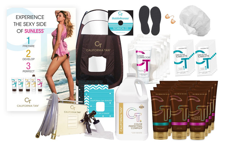California Tan VIP MobileBronzer Kit