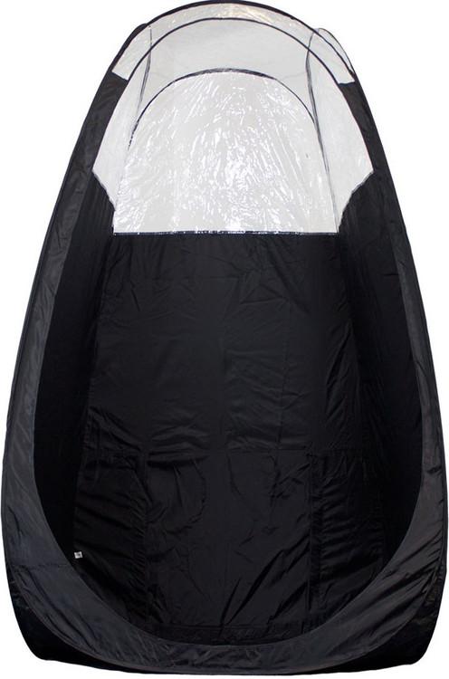 Black Pop Up Spray Tanning Tent