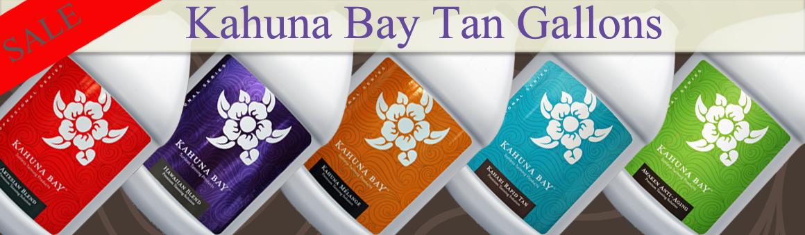 Kahuna Bay Tan Sunless Tanning Solution