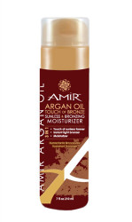 Amir- Argan Oil Touch of Bronze Moisturizer 7oz