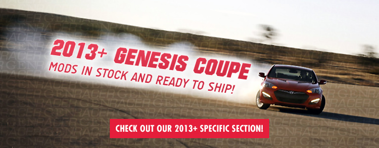 2013+ Genesis Coupe parts in stock!