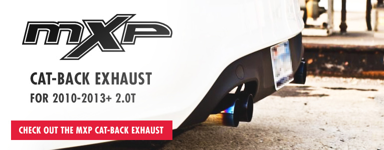 MXP cat-back for Hyundai Genesis Coupe 2.0T in stock!