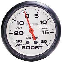 Auto Meter Phantom - Boost Gauge 67mm: 30 PSI