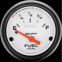 Auto Meter Phantom - Fuel Level Gauge - 240 ohms / 33 ohms