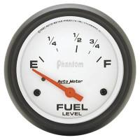 Auto Meter Phantom - Fuel Level Gauge 67mm - 73 ohms / 10 ohms