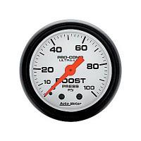 Auto Meter Phantom - Boost Gauge 100 PSI
