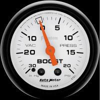 Auto Meter Phantom - Boost Gauge 20 PSI