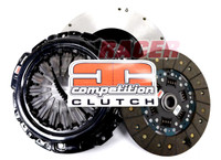 Competition Clutch Stage 2 Full Face Steelback Brass Plus Sprung Clutch Kit & Flywheel for Genesis Coupe 3.8 V6 2010-UP