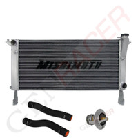 GenRacer Mishimoto cooling package with black hoses